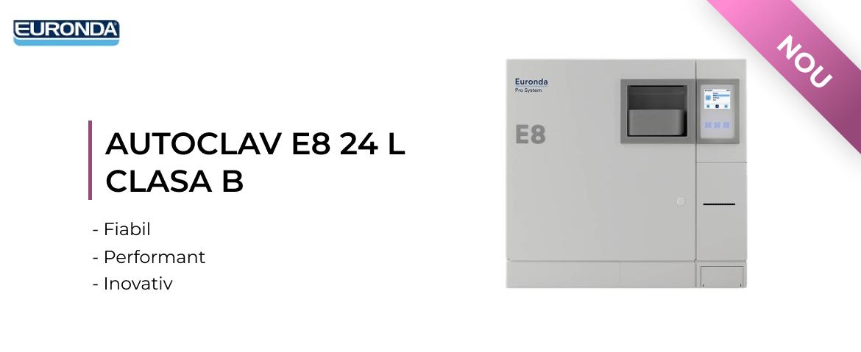 AUTOCLAV E8 24 L CLASA B EURONDA