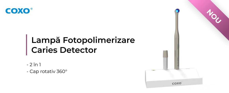 LAMPĂ FOTOPOLIMERIZARE LED CU CARIES DETECTOR
